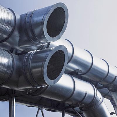 รับผลิต ตัดท่อโลหะ ท่อระบายอากาศ